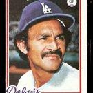LOS ANGELES DODGERS VIC DAVALILLO 1978 TOPPS # 539 VG OC
