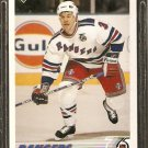 NEW YORK RANGERS PAUL BROTEN 1991 UPPER DECK # 550