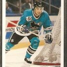 SAN JOSE SHARKS DEAN EVASON 1991 UPPER DECK # 560