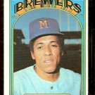 MILWAUKEE BREWERS JOSE CARDENAL 1972 TOPPS # 12 VG