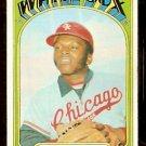 CHICAGO WHITE SOX WALT WILLIAMS 1972 TOPPS # 15 good