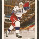 WINNIPEG JETS TODD HARTJE ROOKIE CARD RC 1991 UPPER DECK # 568