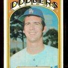 LOS ANGELES DODGERS BILL SINGER 1972 TOPPS # 25 EX