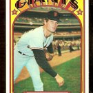 SAN FRANCISCO GIANTS JERRY JOHNSON 1972 TOPPS # 35 EX