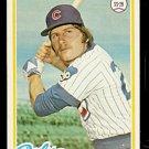 CHICAGO CUBS MICK KELLEHER 1978 TOPPS # 564 EX/EM