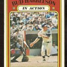 NEW YORK METS BUD HARRELSON IN ACTION 1972 TOPPS # 54 VG+