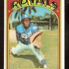 KANSAS CITY ROYALS BOB OLIVER 1972 TOPPS # 57 EX