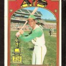 OAKLAND ATHLETICS ANGEL MANGUAL 1972 TOPPS # 62 EX/EM