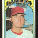 TEXAS RANGERS PETE BROBERG 1972 TOPPS # 64 good