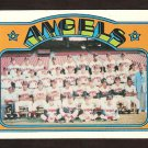 CALIFORNIA ANGELS TEAM CARD 1972 TOPPS # 71 VG+/EX