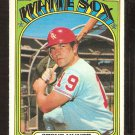 CHICAGO WHITE SOX STEVE HUNTZ 1972 TOPPS # 73 EM