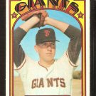 SAN FRANCISCO GIANTS DON CARRITHERS 1972 TOPPS # 76 VG+/EX