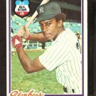NEW YORK YANKEES WILLIE RANDOLPH 1978 TOPPS # 620 VG