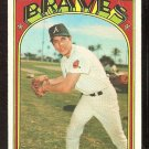 ATLANTA BRAVES MARTY PEREZ 1972 TOPPS # 119 VG