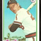 CALIFORNIA ANGELS JOE RUDI 1978 TOPPS # 635 NM SOC