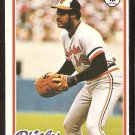 BALTIMORE ORIOLES LEE MAY 1978 TOPPS # 640 EX