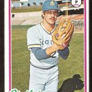 SEATTLE MARINERS TOM HOUSE 1978 TOPPS # 643 VG/EX