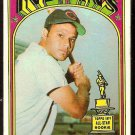 CLEVELAND INDIANS CHRIS CHAMBLISS ROOKIE CARD RC 1972 TOPPS # 142 VG/EX
