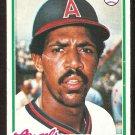 CALIFORNIA ANGELS LYMAN BOSTOCK 1978 TOPPS # 655 good