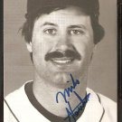 BOSTON RED SOX MIKE STENHOUSE AUTOGRAPHED 1986 TEAM ISSUED POSTCARD
