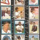 1982-83 SAN FRANCISCO GIANTS 18 DIFF TOPPS STICKERS JOE MORGAN VIDA BLUE REGGIE SMITH +