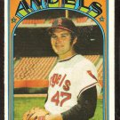 CALIFORNIA ANGELS ANDY MESSERSMITH 1972 TOPPS # 160 G/VG