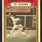 SAN FRANCISCO GIANTS CHRIS SPEIER IN ACTION 1972 TOPPS # 166 VG/EX