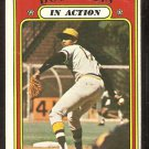 PITTSBURGH PIRATES DOCK ELLIS IN ACTION 1972 TOPPS # 180 G/VG