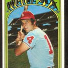 CHICAGO WHITE SOX BILL MELTON 1972 TOPPS # 183 VG