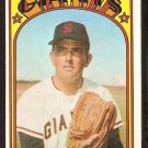 SAN FRANCISCO GIANTS RON BRYANT 1972 TOPPS # 185 EX