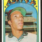 HOUSTON ASTROS SCIPIO SPINKS 1972 TOPPS # 202 NM