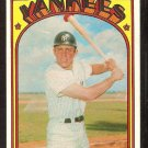 NEW YORK YANKEES RON BLOMBERG 1972 TOPPS # 203 EM/NM