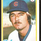 CHICAGO CUBS PETE BROBERG 1978 TOPPS # 722 EX/NM