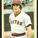BOSTON RED SOX BUTCH HOBSON 1978 TOPPS # 155 NM