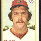 BOSTON RED SOX BOB STANLEY ROOKIE CARD RC 1978 TOPPS # 186 NM OC