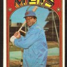 NEW YORK METS TOMMIE AGEE 1972 TOPPS # 245 VG