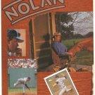 TEXAS RANGERS NOLAN RYAN 2 1991 PINUP PHOTOS