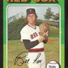 BOSTON RED SOX BILL LEE 1975 TOPPS # 128 NM