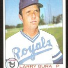 KANSAS CITY ROYALS LARRY GURA 1979 TOPPS # 19 EX/NM