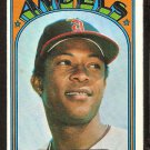 CALIFORNIA ANGELS SANDY ALOMAR 1972 TOPPS # 253 EX/EM
