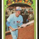 MONTREAL EXPOS BOOTS DAY 1972 TOPPS # 254 EX