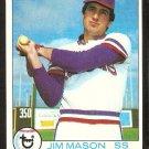 TEXAS RANGERS JIM MASON 1979 TOPPS # 67 EX/NM