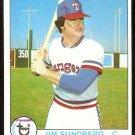 TEXAS RANGERS JIM SUNDBERG 1979 TOPPS # 120 NM