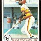 HOUSTON ASTROS BOB WATSON 1979 TOPPS # 130 EX/NM