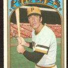 PITTSBURGH PIRATES GENE ALLEY 1972 TOPPS # 286 VG