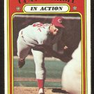 CINCINNATI REDS CLAY CARROLL IN ACTION 1972 TOPPS # 312 VG