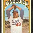LOS ANGELES DODGERS JOSE PENA 1972 TOPPS # 322 VG/EX