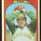 OAKLAND ATHLETICS JIM HUNTER 1972 TOPPS # 330 G/VG