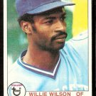 KANSAS CITY ROYALS WILLIE WILSON ROOKIE CARD RC 1979 TOPPS # 409