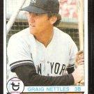 NEW YORK YANKEES GRAIG NETTLES 1979 TOPPS # 460 EX